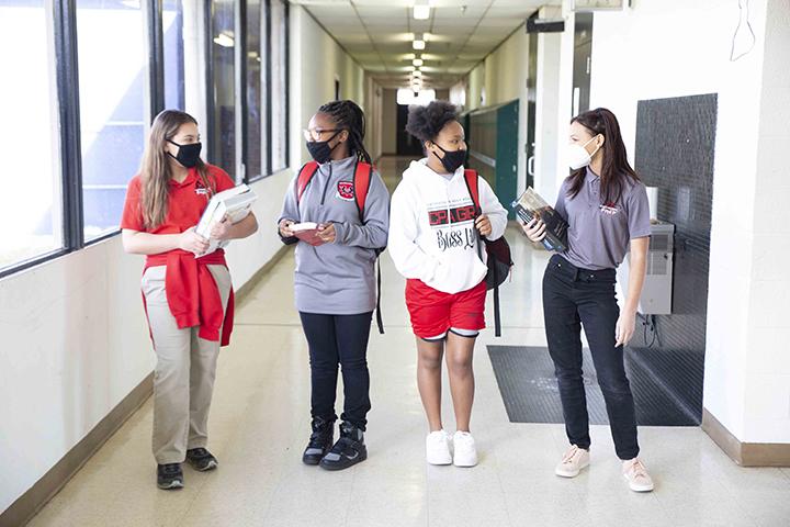 CPA girls Hallway