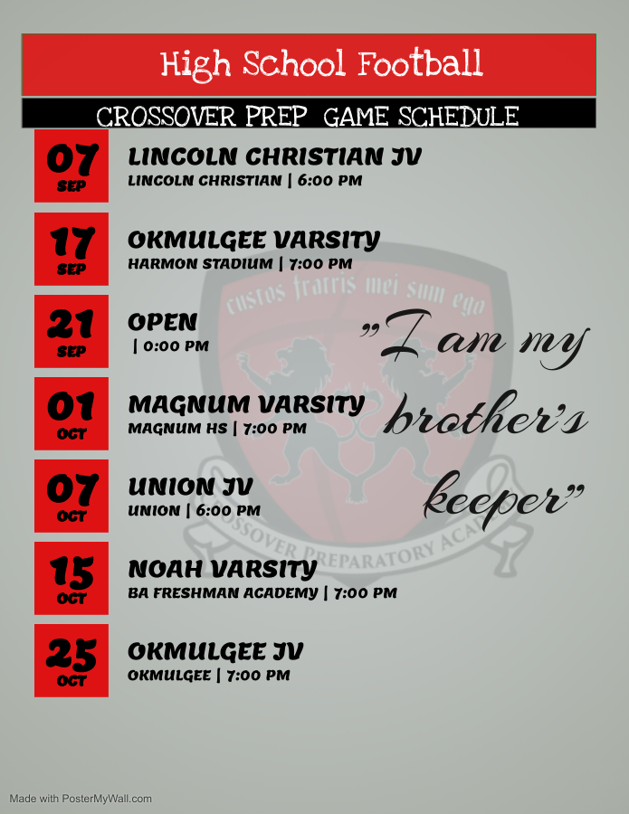 High School football schedule - Made with PosterMyWall (1)